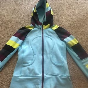Colorful LuLuLemon Zip-Up Hoodie
